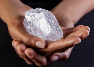 Le plus gros diamant du monde brut